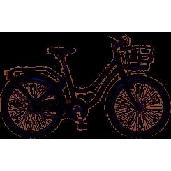 Kildemoes Bikerz 3 gear Retro