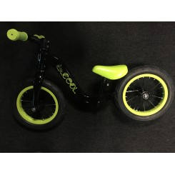 Løbecykel sort grøn